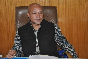 Sanbor Shullai is BJP's candidate for Shillong Lok Sabha seat