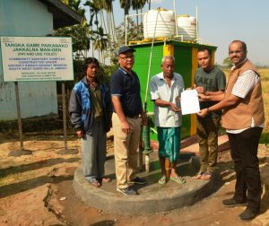 Community sanitary complexes handed over to partners in South West Garo Hills