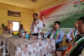 Former CM, Mukul Sangma questions Agatha's role in Parliament