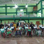 Basketball introductory camp for Differently-able person held