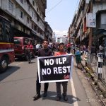 CoMSO observes black flag day, asks regional parties to come clear on ILP issue