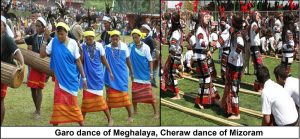 Garo dance of Meghalaya, Cheraw dance of Mizoram to be showcased in London