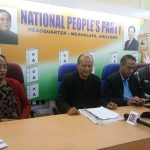 NPP predicts the end of Congress in Meghalaya