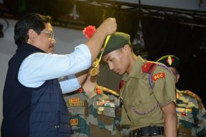 CM attends closing ceremony of NCC's Combined Annual Training Camp
