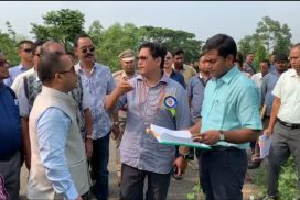 CM says entry/exit point at Mendipathar Railway Station will complete within 6 months