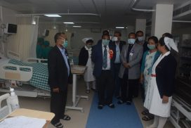 Health Minister inaugurates ICU and ETP at Shillong Civil Hospital