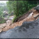 Heavy downpour causes landslides in many places