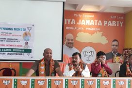 BJP claims to have enrolled one lakh new members in Meghalaya