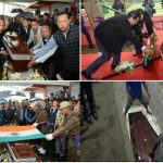Meghalaya Speaker, Dr Donkupar Roy Dkhar laid to rest with full state honours