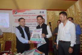 Meghalaya CEO launches Electors Verification Programme