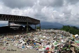 Minister assures to reduce stench from dumping ground