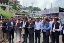 Mawlai Bypass and Mawkynroh-Umshing Police Outpost inaugurated