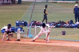 Meghalaya lost their second match of the Vijay Hazare Trophy by four wickets to Puducherry
