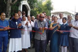 South Shillong MLA inaugurates road project