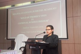 Training programme on the Role of Prosecution in Criminal Justice System held