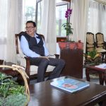 Mein, Mossang calls on Arunachal Governor