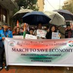 "Congress holds protest march in Shillong against ""NDA Govt's misrule"""