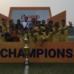 Meghalaya won the Sub-Junior National Football Championship