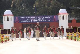 Dikshant parade of 46th Batch Basic Course held at North Eastern Police Academy