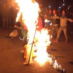 Protesters burn effigies of PM , HM, Governor and Tura MP
