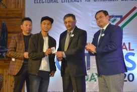 National Voter's Day celebrated in Meghalaya