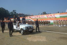 Meghalaya celebrates 71st Republic Day with Zeal and enthusiasm