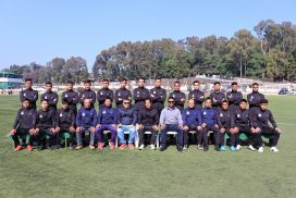 Meghalaya football team leaves for Dr T Ao Trophy in Nagaland