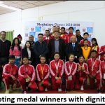 Meghalaya Games: 6 disciplines concluded on third day, medals distributed to winners
