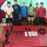 Meghalaya police nabs seven gangs, seized weapons