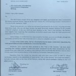 HFU Letter to C M Comander Shangpliang