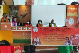BJP Mahila Morcha National President inaugurates week-long 'Sewa Saptah' in Meghalaya