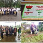 BJP Meghalaya plants trees on 70th birthday of Prime Minister