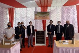 Birth anniversary of (L) Purno A Sangma observed, foundation stone in Shillong for constructing NPP office