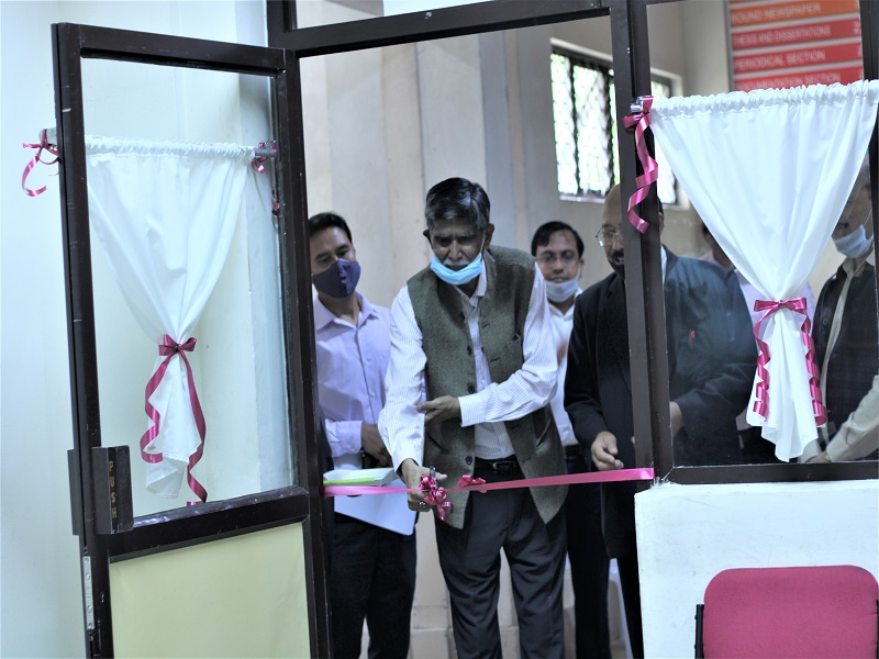 Book sanitizing' machine unveiled at NEHU's Central Library