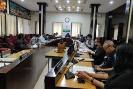 Cabinet meeting of the govt. of meghalaya Monday 7 9 2020