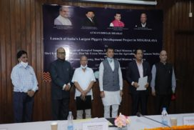 Meghalaya CM launches Rs 200 crore India's biggest piggery project in the State