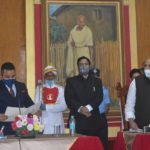 Two new ministers take oath, Lamare is MDA government's youngest minister