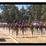 Attestation Parade of 42nd Batch of Recruit Constables held at APTC in Mawiong