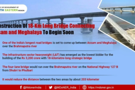 Longest bridge in the country to connect Assam's Dhubri with Phulbari in Meghalaya