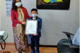 Brave heart feted for saving his buddies
