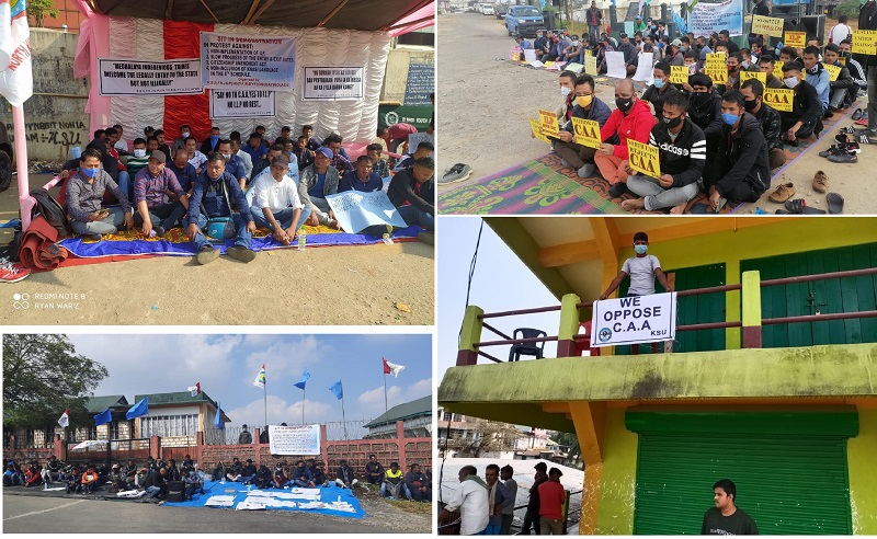 Pressure groups resume agitation to demand implementation of ILP in Meghalaya