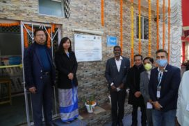 Community toilet complex inaugurated