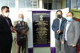 Conrad Sangma inaugurates new ITI Campus at Sohra