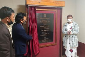 Fixed Audio System in Shillong inaugurated by IPR Minister