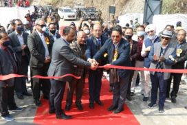 Conrad inaugurates Wahrew bridge over Tharia river