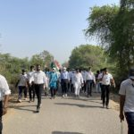 Conrad Sangma walks the Dandi path in Gujarat's Vadodara district