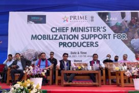 Chief Minister launches the 'Chief Minister's Mobilisation Support for Producers' program