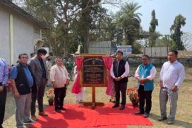 Chief Minister lays foundation for road project