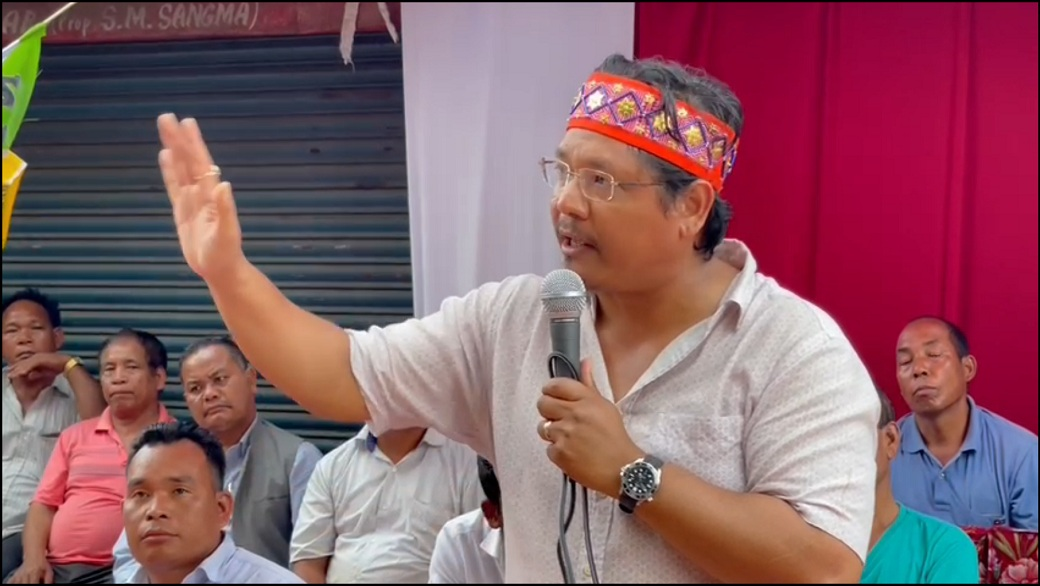 Conrad: Opposition has put their hands down, NPP wave is across Garo Hills