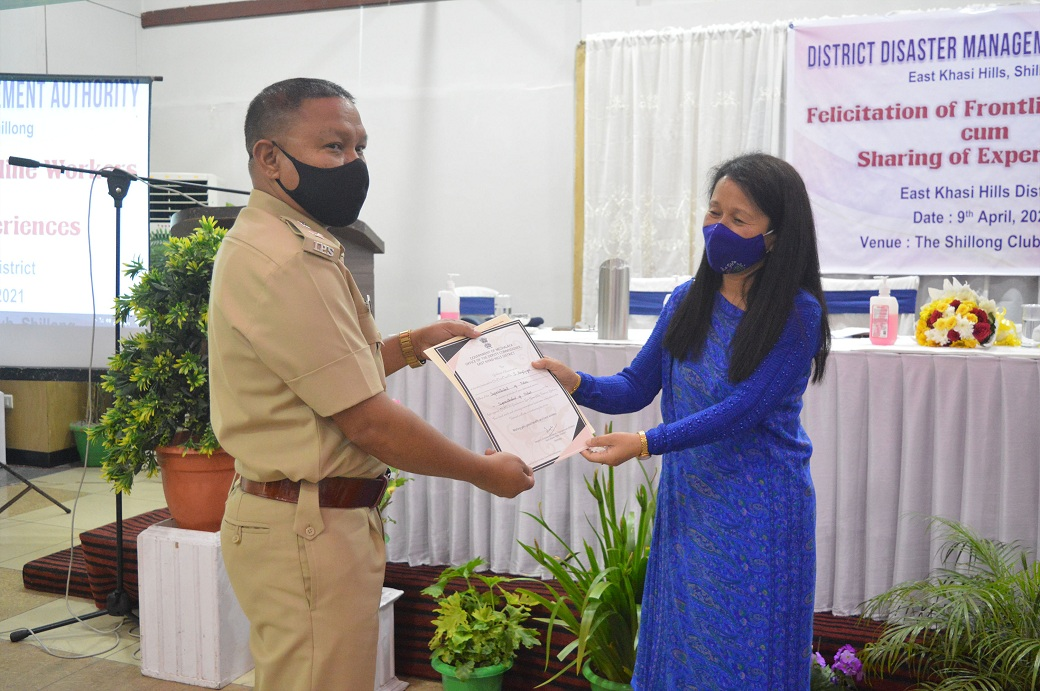 Felicitation programme of frontline workers cum sharing of experiences workshop